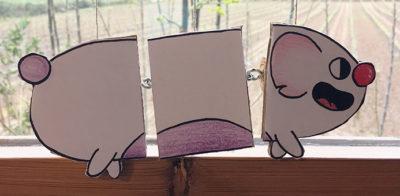 Marionetes de paper (dibuixos articulats)