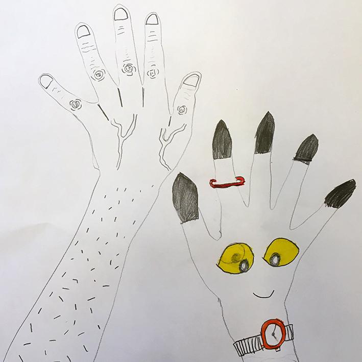 Dibuixem mans 8