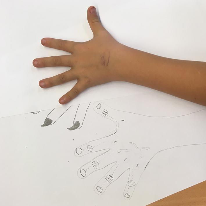 Dibuixem mans 7