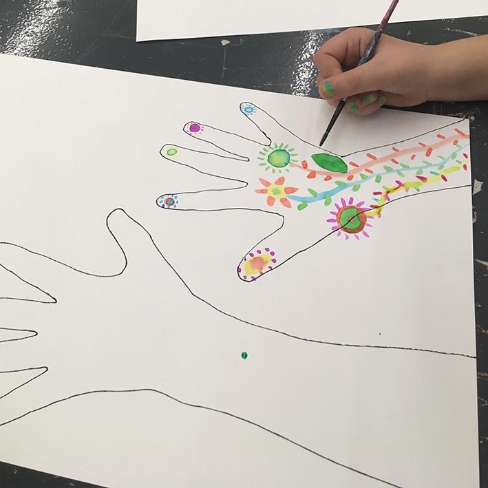 Dibuixem mans 11