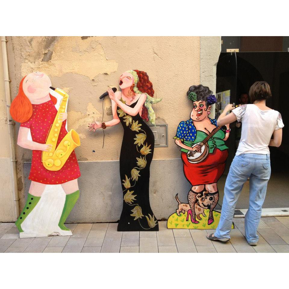 Figures als balcons. Vijazz Vilafranca.