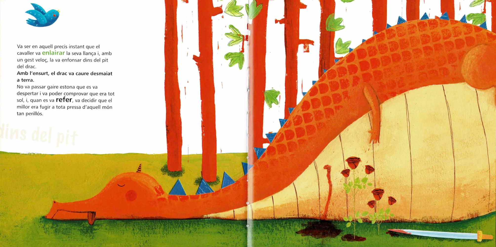 Qui diu la veritat: el cavaller o el drac? 6